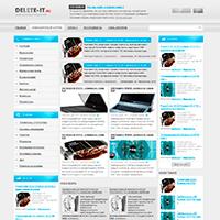 Сайт о информационных технологиях