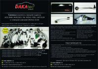 A5 лстовка для DAKAtec