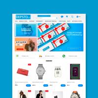 Интернет магазин Depsto