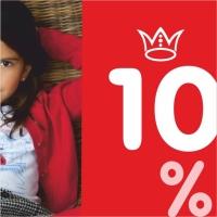 Клубная карта магазина детской одежды Kids