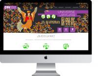 Адаптивная верстка сайта для компании NVC