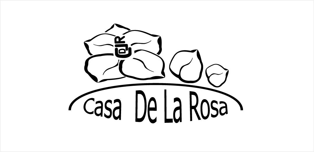 Логотип + Фирменный знак для элитного поселка Casa De La Rosa фото f_5585cd1eff0967a0.jpg