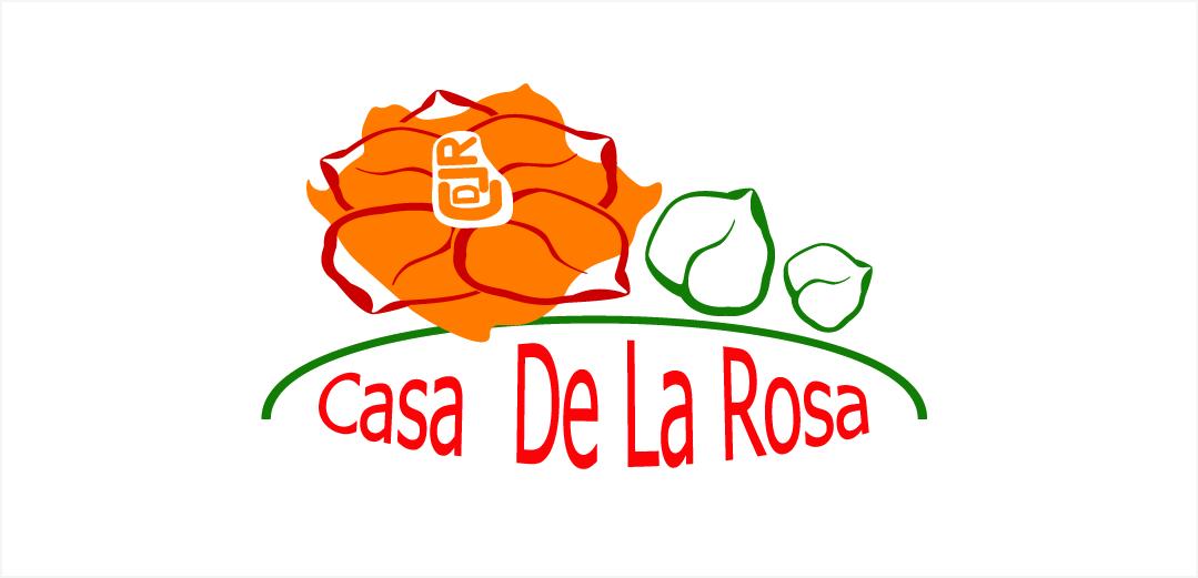Логотип + Фирменный знак для элитного поселка Casa De La Rosa фото f_8445cd1eebf031da.jpg