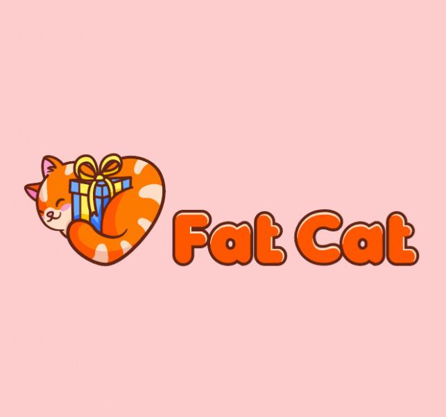 Логотип Fat Cat