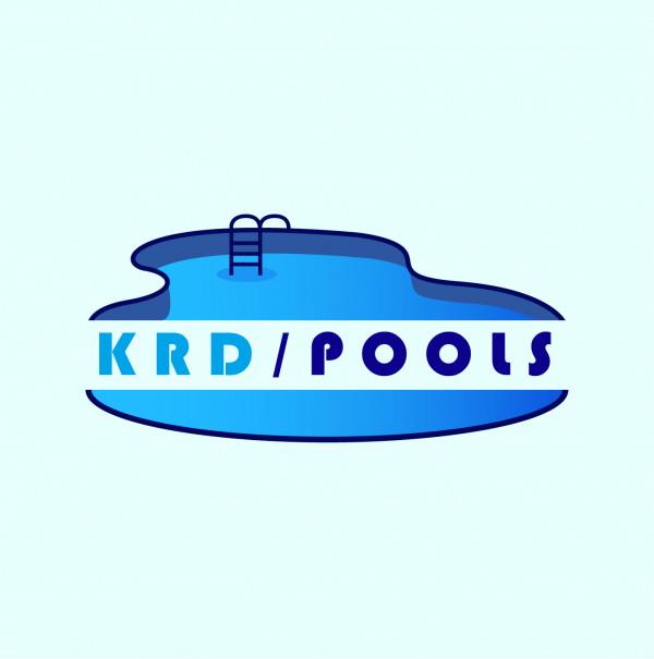 Логотип строительство бассейнов