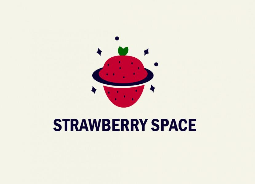 Логотип Strawberry Space