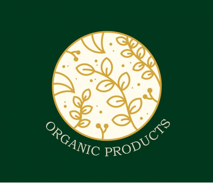 Логотип органической косметики