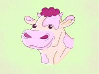 Иллюстрация коровки