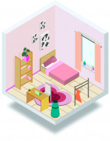Комната в изометрии