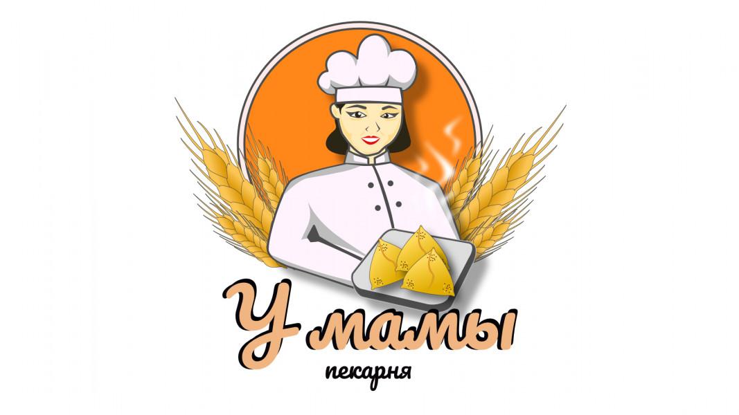 Логотип для пекарни У мамы