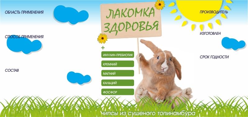 Дизайн этикетки на ПЭТ-банку лакомства для домашних грызунов фото f_39253a7d8d54d3ad.jpg