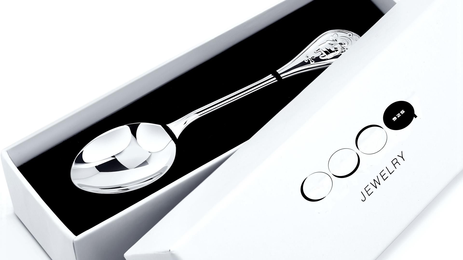 Логотип для столового серебра и посуды из серебра фото f_3435baf7f1ad864e.jpg