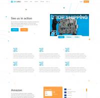 2020. SKYGRID - Управление ценами на маркетплейсах. Сайт под ключ + 5 стр. Webflow + Адаптивность.