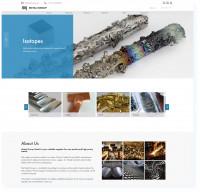 2020 год. Metalgroup — Цветные металлы. Сайт компании + 3 языка + каталог + новости + Wordpress + Адаптивность