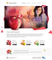 Главная страница для сайта MagicApple Store