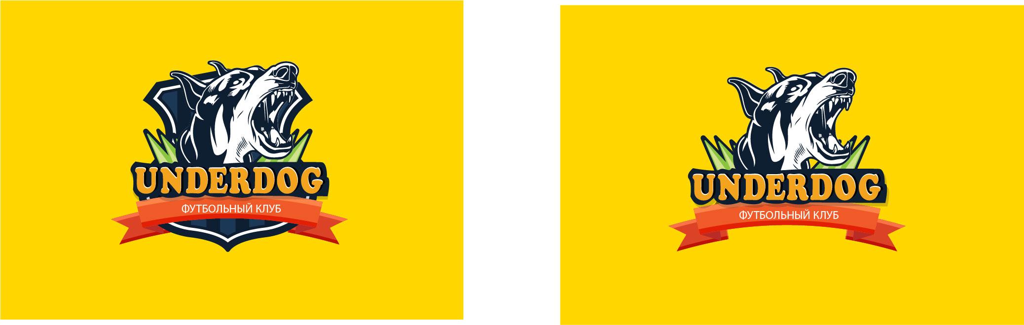 Футбольный клуб UNDERDOG - разработать фирстиль и бренд-бук фото f_0915caf3f767c928.jpg