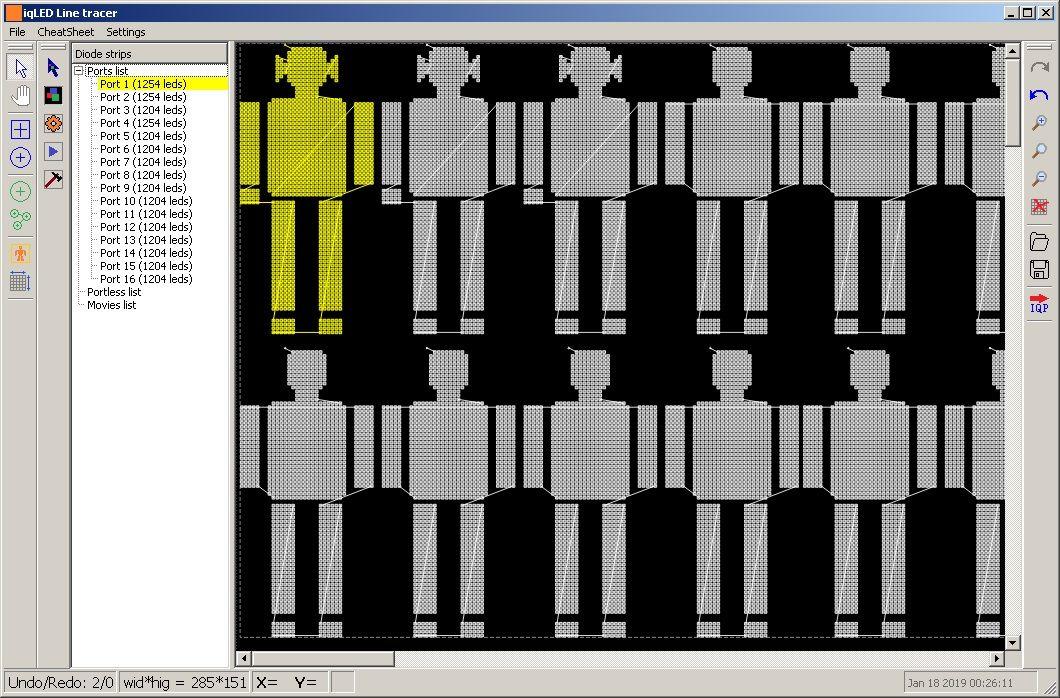 """iqLED Tracer"" - трекер для светодиодных лент. (C++, Qt)"