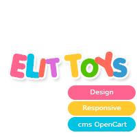 """Интернет-магазин """"Elit Toys"""""""