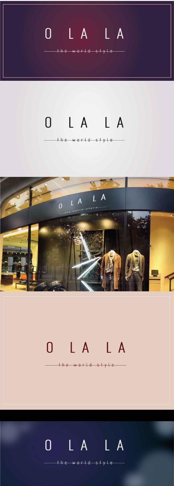 Логотип шоурума модной одежды