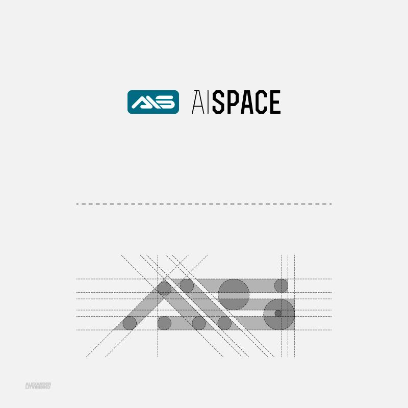 Разработать логотип и фирменный стиль для компании AiSpace фото f_41851b1cc09abb1a.png