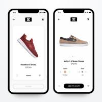 Моб. приложение «DC Shoes»