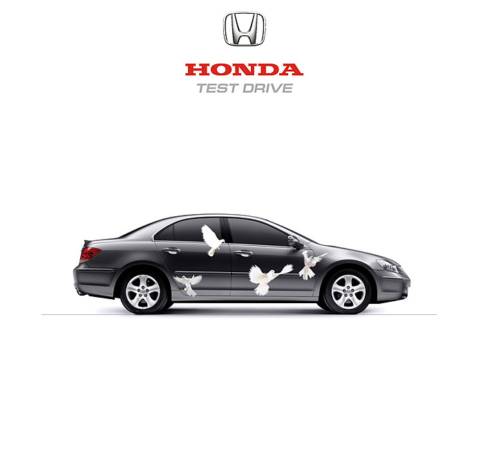 Honda test drive design