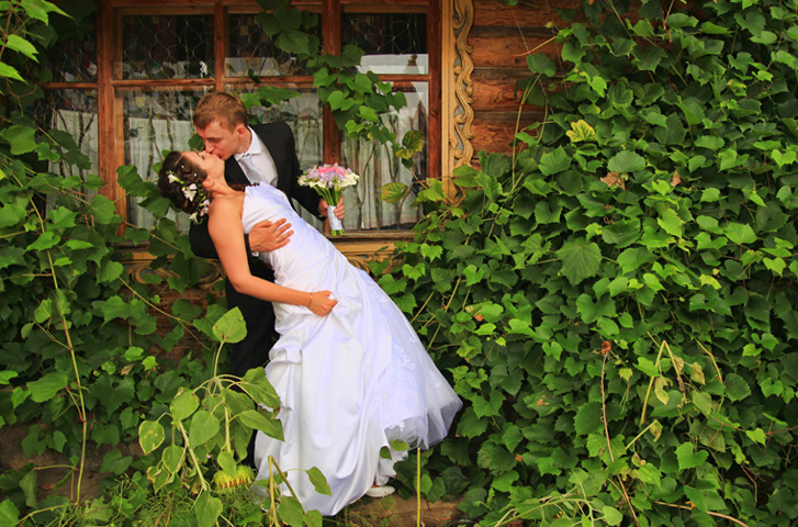 Пример свадебного фото