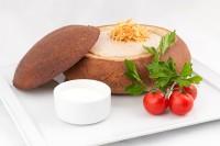Сливочный крем суп из белых грибов