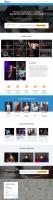 Меломан - сайт на Wordpress