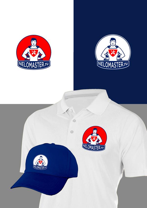 """Логотип сервиса """"Муж на час""""=""""Мужская помощь по дому"""" фото f_0295dc90f7de5769.jpg"""