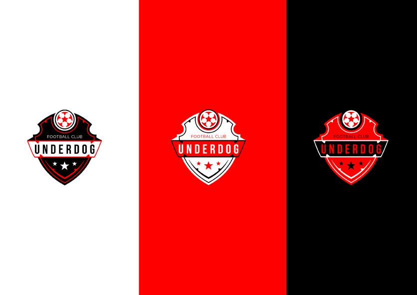 Футбольный клуб UNDERDOG - разработать фирстиль и бренд-бук фото f_1755cb4815162702.jpg