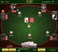 Карточная игра АЗИ под Windows, Android и iOS (Unity3D)
