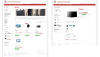 Стилизация каталога Magento (умный дом)
