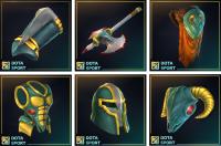 Иконки предметов из игры