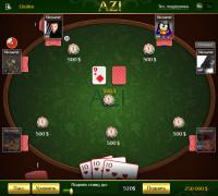 Игровое поле карточной игры АЗИ