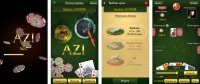 Экраны карточной игры АЗИ