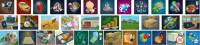 Иконки игровых полей для проекта Full Flow