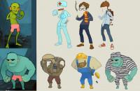 Персонажи и одежда для проекта Battle in Mountains (Вконтакте)