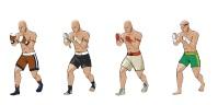 Бойцы для 2-й версии игры Тайский бокс