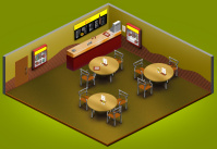 Внутренняя локация Хомидональдс для игры Хомячки