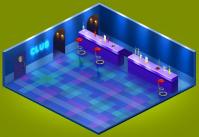 Внутренняя локация Клуба для игры Хомячки