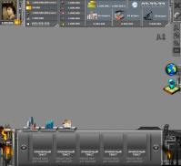 Основной интерфейс для игры Нефтяной магнат