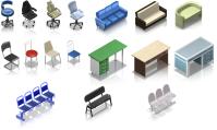 Мебель (2) для игры Городская больница