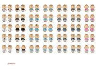 Рубашки для персонажей в игре Хомячки