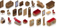 Элитная мебель для игры Городская больница
