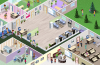 Vip-палата гос. клиники в игре Городская больница