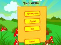 Пример интерфейса для игры Свен