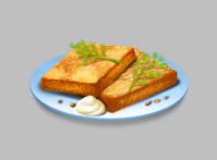 Хлебные гренки (аналог ChefVille)