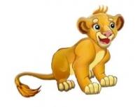 Довольный лев для аналога игры Sims