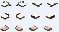 Кровати для аналога игры Sims